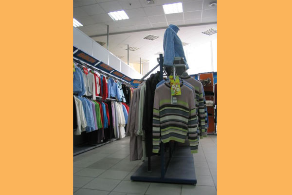 Магазин дешевой одежды