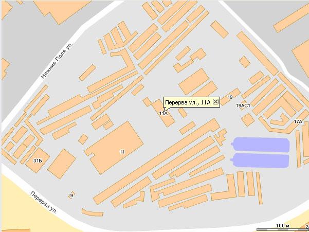 официальный перерва 3 на карте ООО, сервисный