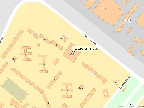 Бильярд ул перерва дом 8 на карте