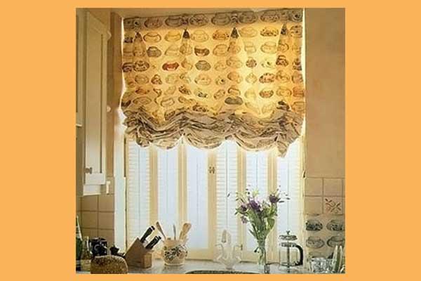 Дизайн штор фотогалерея кухни